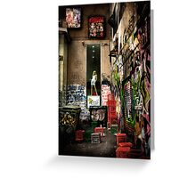Back-Alley Madonna Greeting Card