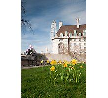 Springtime Hits London: London Eye. Photographic Print