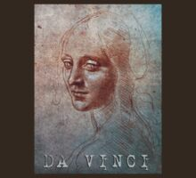 Da Vinci Head of a Woman by Juilee  Pryor
