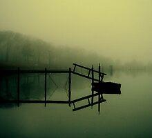 Reflections on Noyac Bay by Kristina Gale