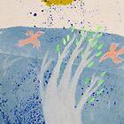 flying boat leaf by donnamalone