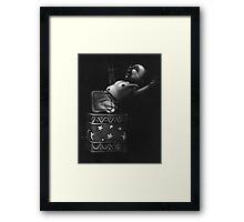 Jack in the Box Framed Print