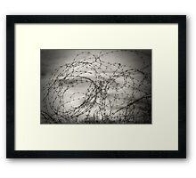 Unwelcome Framed Print