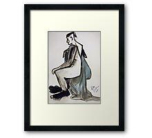 Hmm Now What! Framed Print