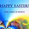 Easter card &quot; The Lord is Risen!&quot; by Caroline  Lembke