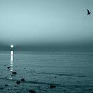 blue sunrise by imagegrabber