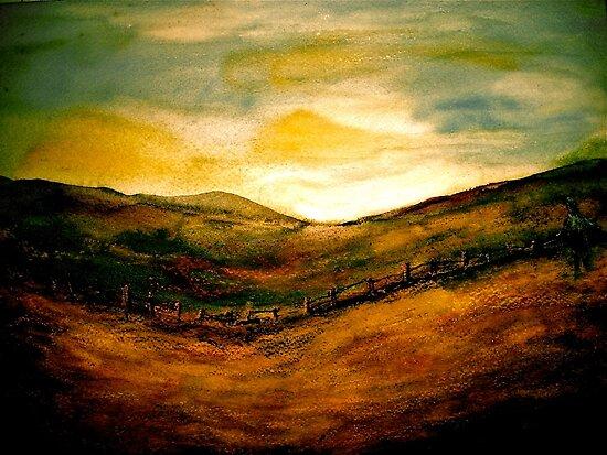 Landscape Hardy...Egdon Sunrise by © Janis Zroback