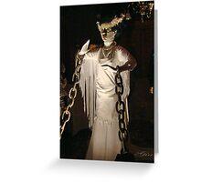 """""""Bride of Frankie"""" Greeting Card"""