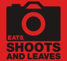 Eats, Shoots & Leaves... Kids Clothes
