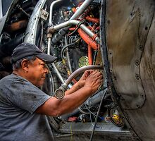 Mechanic -- HDR Portrait by njordphoto