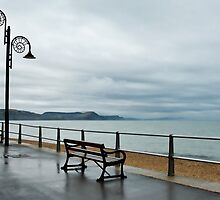 Empty Seats ~ Lyme Regis by Susie Peek