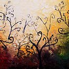 The Forest Curls by Abstract D'Oyley