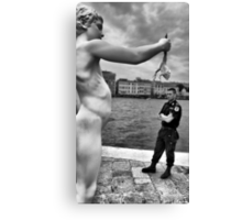 Art and life Canvas Print