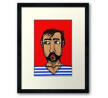 South American Guy Framed Print