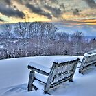 Storm Arrives Mt Snow Vermont by Jaime Martorano