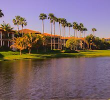 Lagoon on fourth hole at Deering Bay CC in South Florida by Bigart32