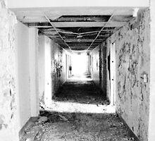 Hallway To Nowhere by David Schroeder