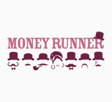 Moneyrunner - Logo T-shirt by Stephen Wildish