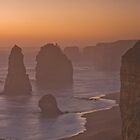 Sunset at Twelve Apostles by Matthew Choi
