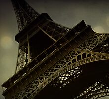 Vintage romantic Eiffel Tower by Phoenix55