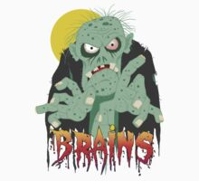 Zombie BRAINS by Danny Willis