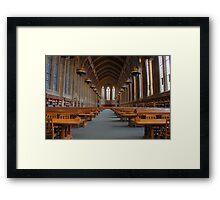 Suzzallo Library (University of Washington) Framed Print