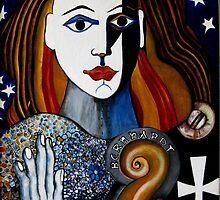BERNHARDT AS JOAN OF ARC by Redlady