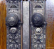 Temple Doors ~Salt Lake Temple by Jan  Tribe