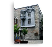 The Tin House Canvas Print