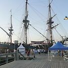 The 'ENDEAVOUR' Tall Ship Replica. by Mywildscapepics