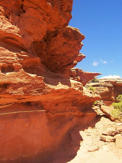 Red American Rocks,  by MichelleRees