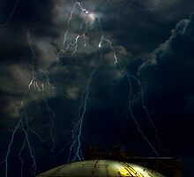 Close Encounters - Port Botany Fuel Storage Depot, Sydney, NSW Australia by Mark Richards
