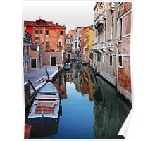 ITALY - The Canals of Venice Poster