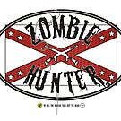Zombie Hunter flag by Emma Harckham