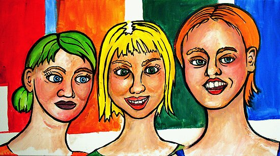 3 Strange Girls  by fixtape