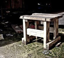 Urban Decay - Stool by Edward Myers