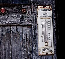 Urban Decay - Thermometer by Edward Myers