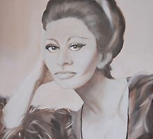 Sofia Loren by annapupa