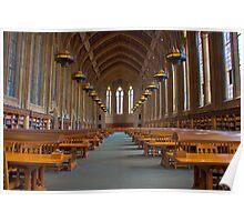 Suzzallo Library (University of Washington) (NON HDR version) Poster