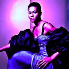 michelle obama by KEITH  R. WILLIAMS