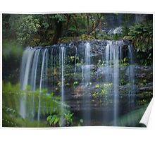 russell falls, tasmania Poster