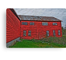 old tannery building Canvas Print