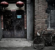 Hutongs of Beijing by Vincent Riedweg