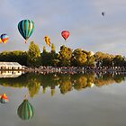Balloon Festival Canberra by Michael Lynch
