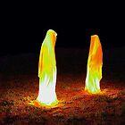 Light guards sculpture by Manfred Kielnhofer by kielnhofer