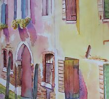 Venetian Shutters by Christiane  Kingsley