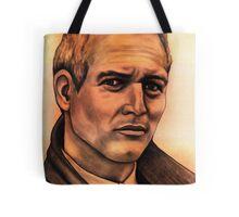 Paul Newman celebrity portrait Tote Bag