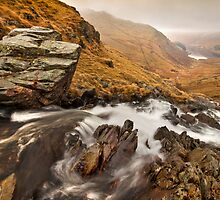 Haweswater waterfall by Shaun Whiteman