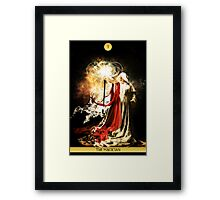 I - The Magician Framed Print