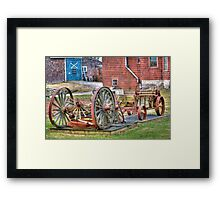 Don't Get Around Much Anymore Framed Print